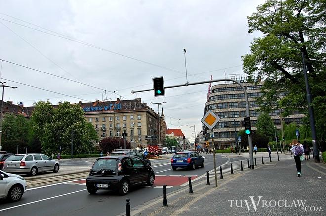 Plac Kościuszki we Wrocławiu