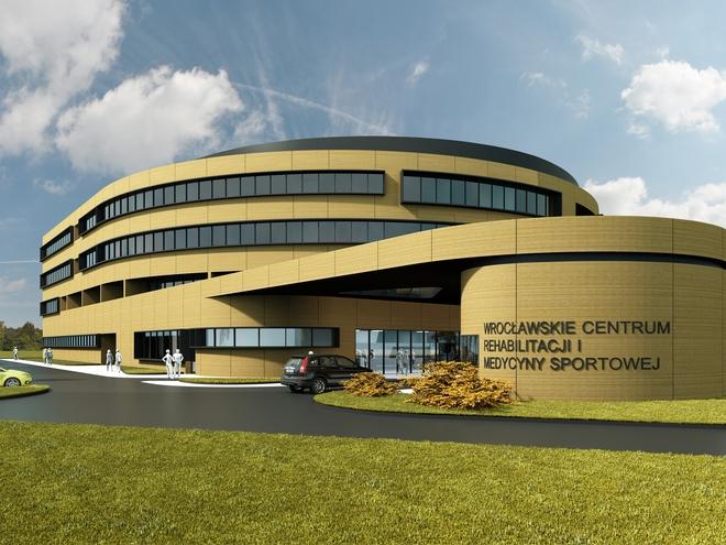Przy zbiegu ul. Lekarskiej i Żmigrodzkiej rozpoczęła się budowa nowej siedziby Wrocławskiego Centrum Rehabilitacji i Medycyny Sportowej