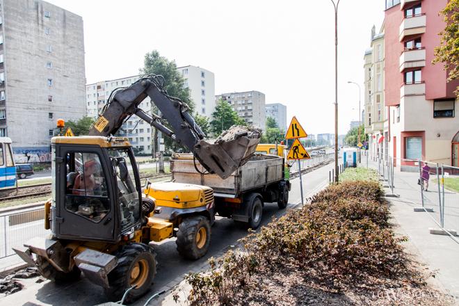 Budowa trasy rowerowej na ulicy Legnickiej trwała od sierpnia
