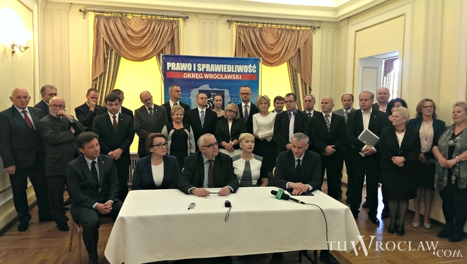 Prawo i Sprawiedliwość wystawi z Wrocławia 28 kandydatów do Sejmu
