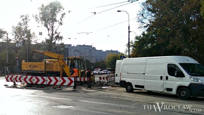Uwaga na utrudnienia na ulicy Grabiszyńskiej. Będą trwały kilka dni