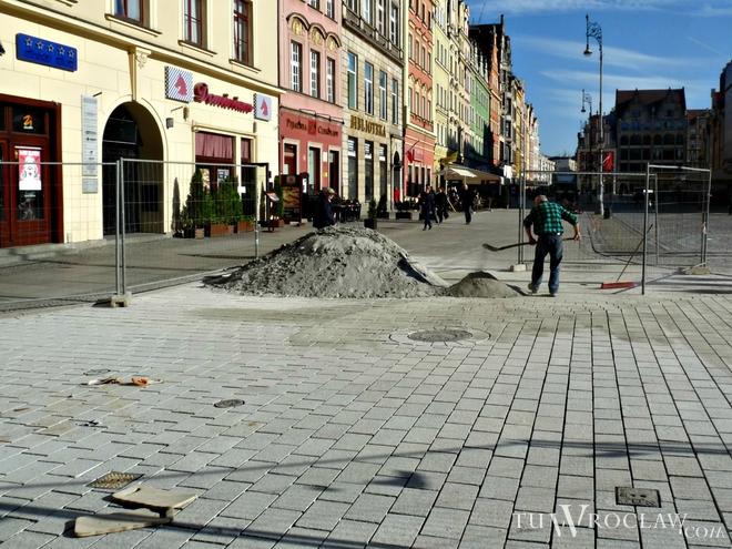Rozstrzygnięto przetarg na dokończenie budowy szpilkostrady we wrocławskim Rynku