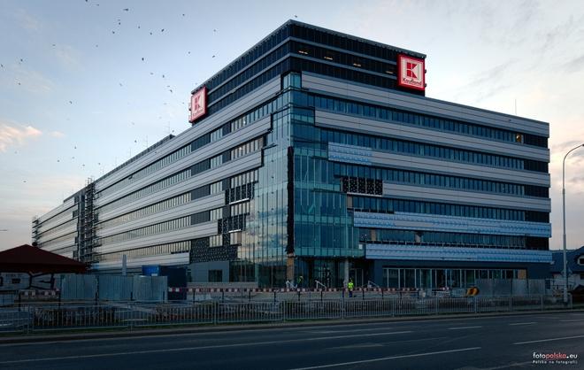 Dobiegła końca budowa nowej siedziby Kauflandu we Wrocławiu
