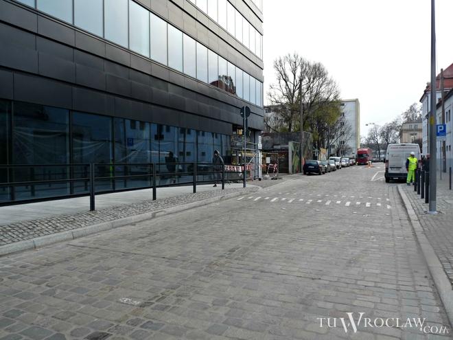 Ulica Wierzbowa - widok w stronę Teatralnej