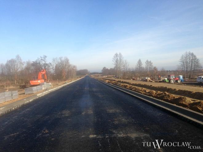 Od kilku miesięcy trwa budowa obwodnicy Leśnicy