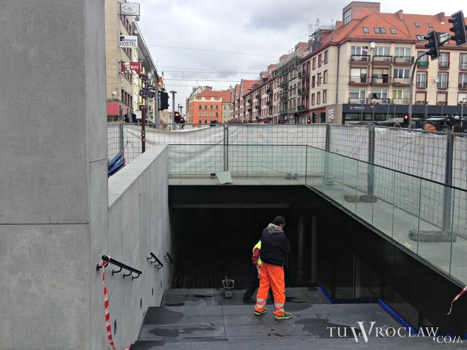 W sobotę pieszym zostanie udostępnione nowe przejście podziemne