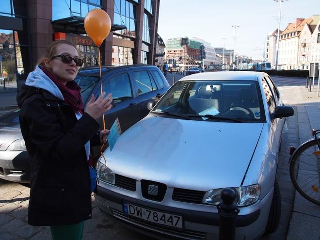 Stowarzyszenie Akcja Miasto przygotowało happening edukacyjny skierowany do kierowców