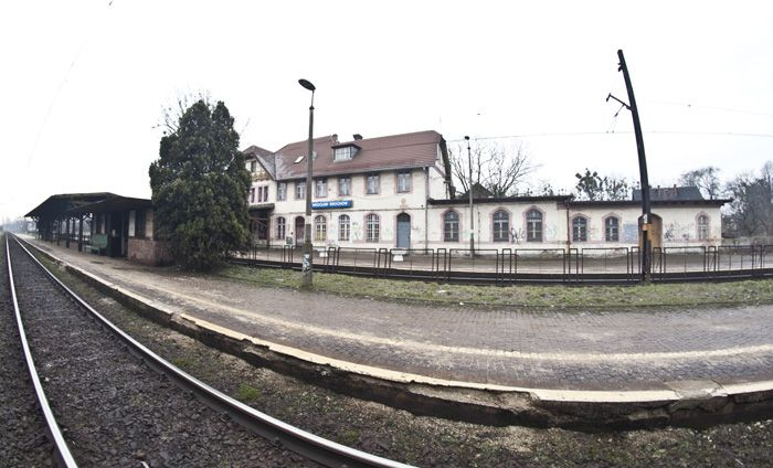 Czy budynek dworca na Brochowie znajdzie się w produkcji młodych filmowców, przekonamy się wkrótce.