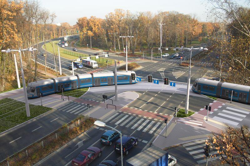 Linia Tramwajowa na Kozanów ma być gotowa najpóźniej w kwietniu...