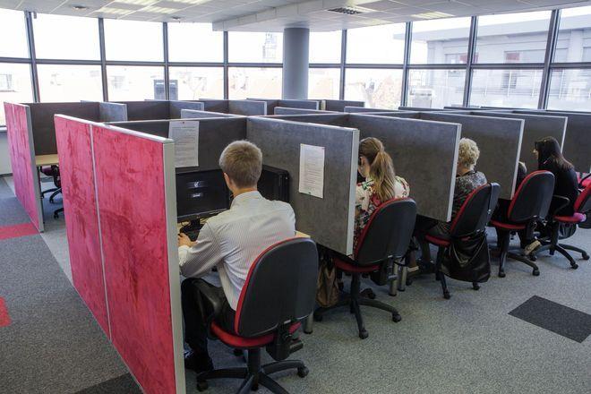 nowe call center powsta o w budynku parkingu przy szewskiej inwestycje komercyjne www. Black Bedroom Furniture Sets. Home Design Ideas