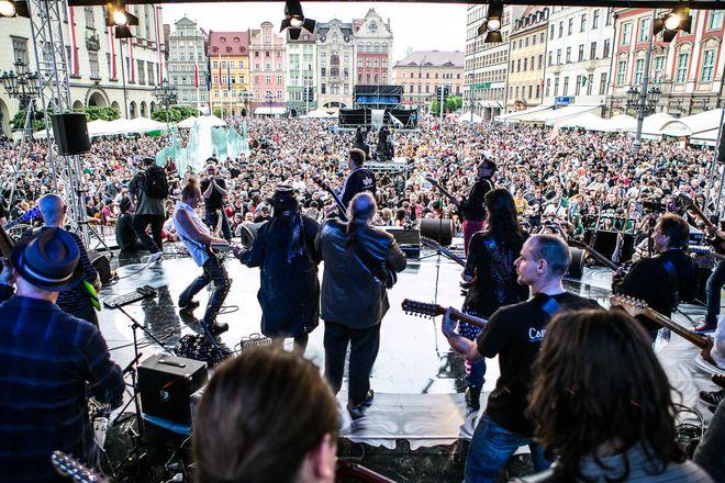 Tym razem na Pergolę przybyło mniej gitarzystów niż było ich w Rynku