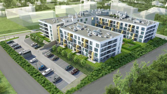 W pierwszym etapie budowy kompleksu Grota 111 powstanie tam 100 mieszkań