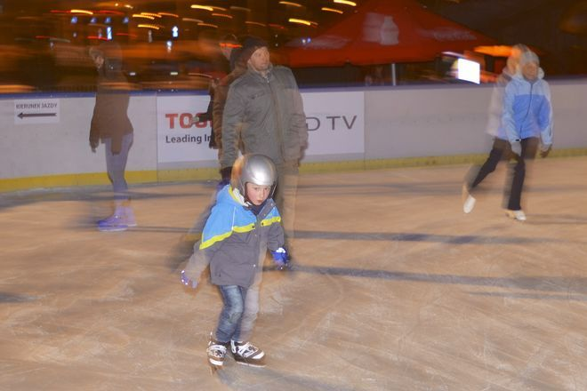 Na łyżwach można jeździć w każdym wieku