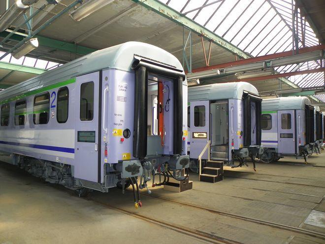 Zmodernizowane wagony już czekają na pasażerów