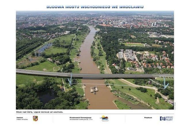 Tak ma wyglądać most Wschodni w wariancie planowanym przez miasto