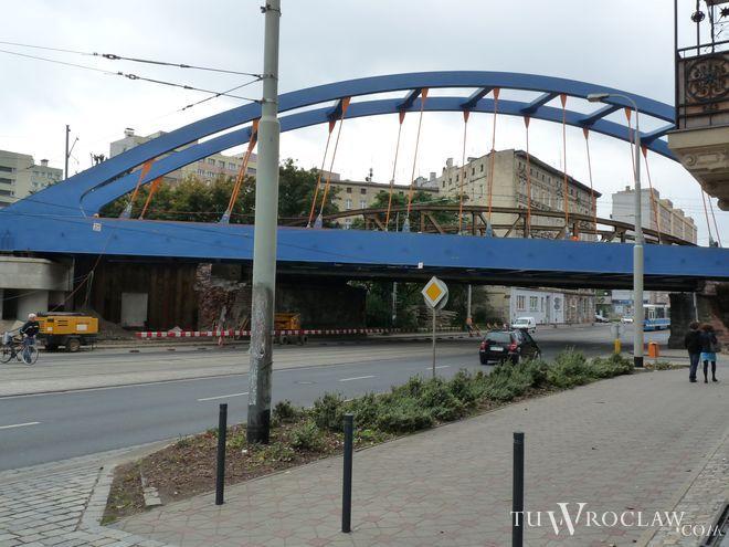 Przebudowa wiaduktu zakończy się pod koniec roku