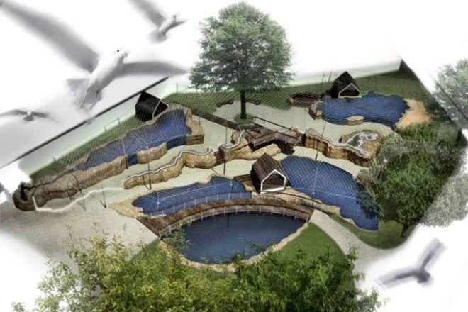 Od ponad miesiąca we wrocławskim ZOO trwa budowa Odrarium