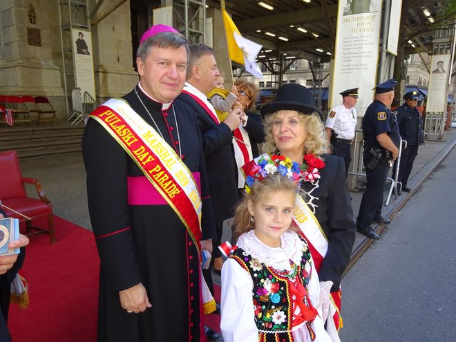 Arcybiskup Kupny w czasie wizyty w Nowym Jorku