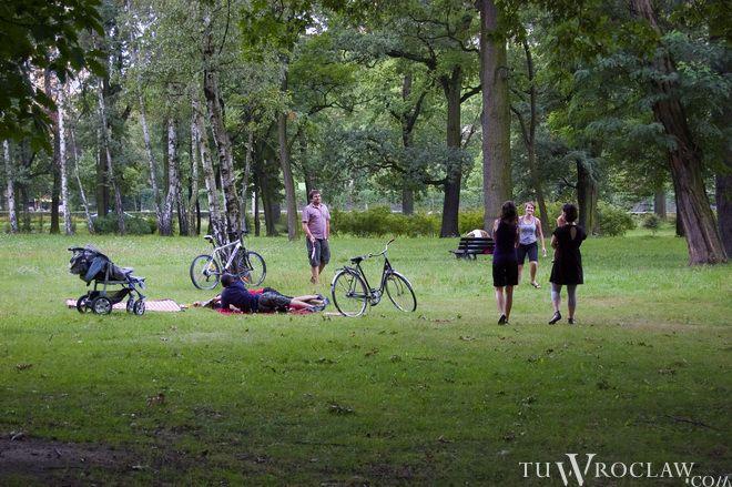 Park Zachodni to miejsce rekreacji dla wrocławian z tej części miasta