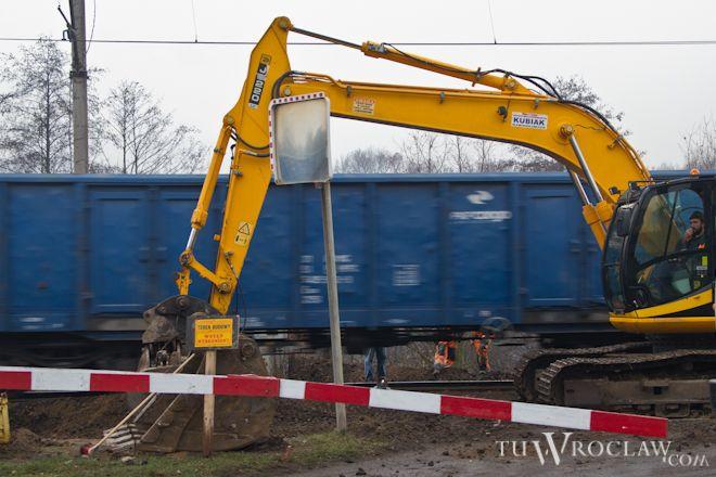 Prace na przejeździe kolejowym mają potrwać trzy miesiące