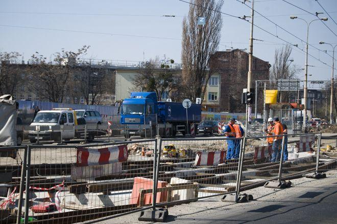 Prace trwają już na placu Wróblewskiego