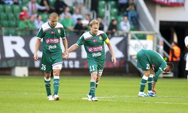 Piłkarze Śląska mają nad czym myśleć po klęsce w Zabrzu