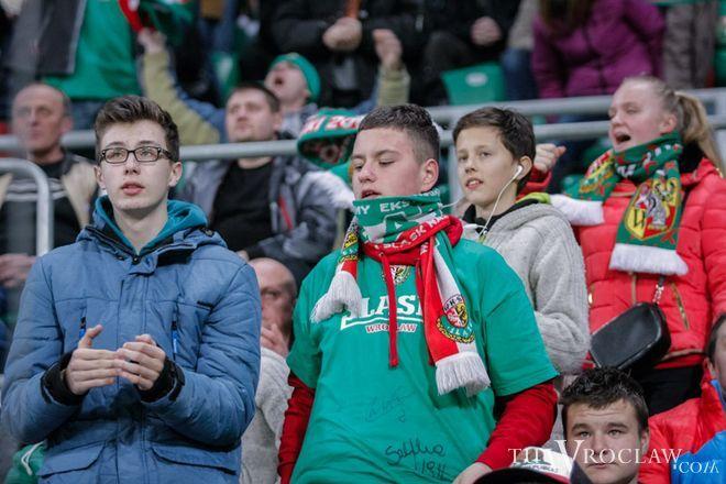 Wrocławianie kibicują Śląskowi od najmłodszych lat