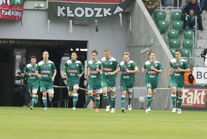 Piłkarze Śląska w końcu czują się na Stadionie Miejskim jak w domu