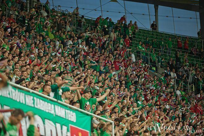 Mecz z Lechem będzie ostatnią szansą by w tym sezonie ligowym dopingować WKS we Wrocławiu