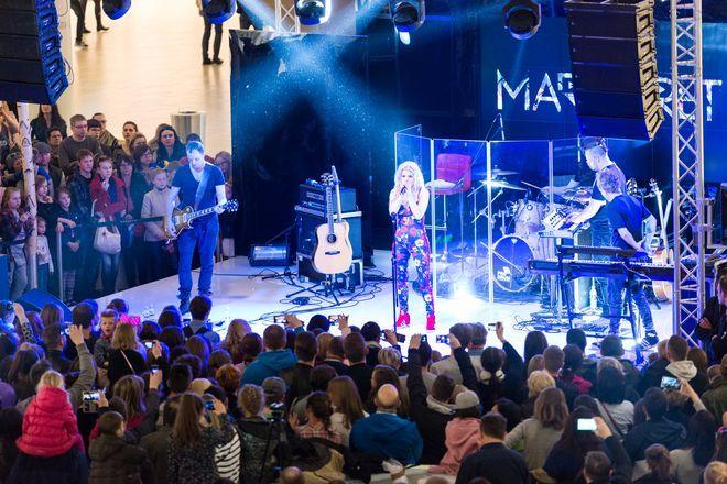 Koncert Margaret na zakończenie weekendu