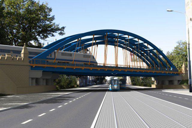 Taki będzie odnowiony wiadukt na ulicy Grabiszyńskiej na wysokości Wysokiej