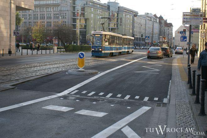 Przystanek wiedeński na ul. Piłsudskiego już gotowy