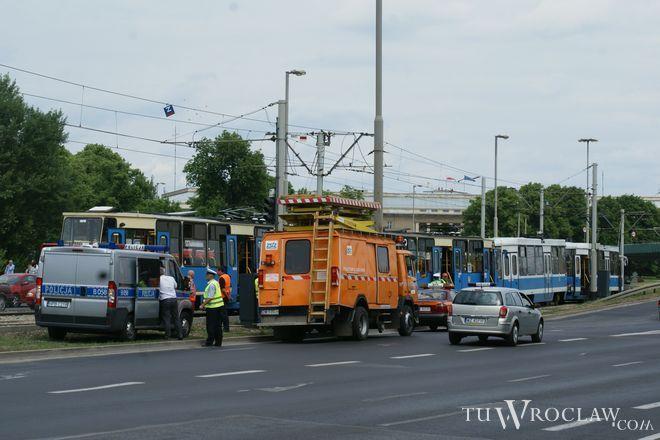 Na miejscu wypadku szybko pojawiły się służby