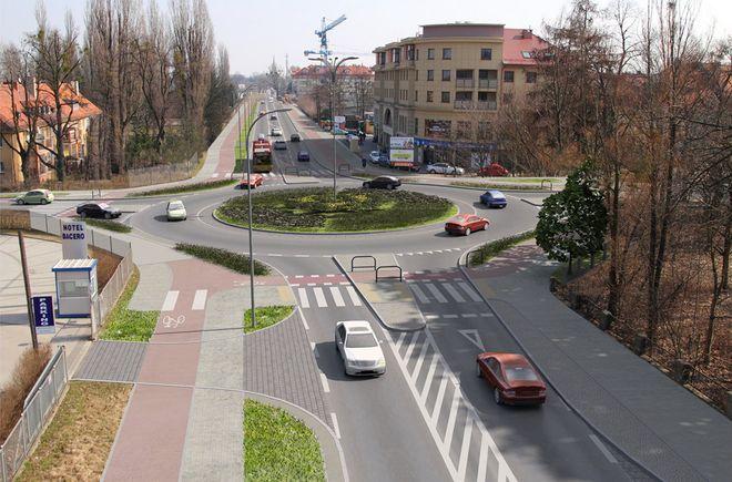 Drogowcy wybudowali już w tym rejonie m.in. nowe rondo u zbiegu ulic Zwycięskiej i Ołtaszyńskiej
