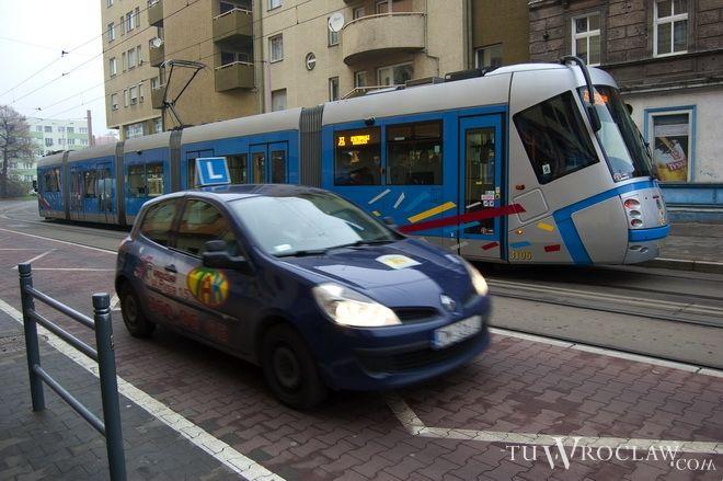 Tramwaje nie mogły dojechać m.in. do przystanku wiedeńskiego