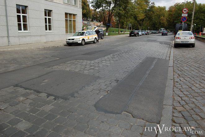Ulica Purkyniego na pewno będzie w przebudowie do końca roku