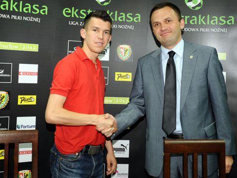 Waldemar Sobota podpisał kontrakt ze Śląskiem w letnim oknie transferowym.