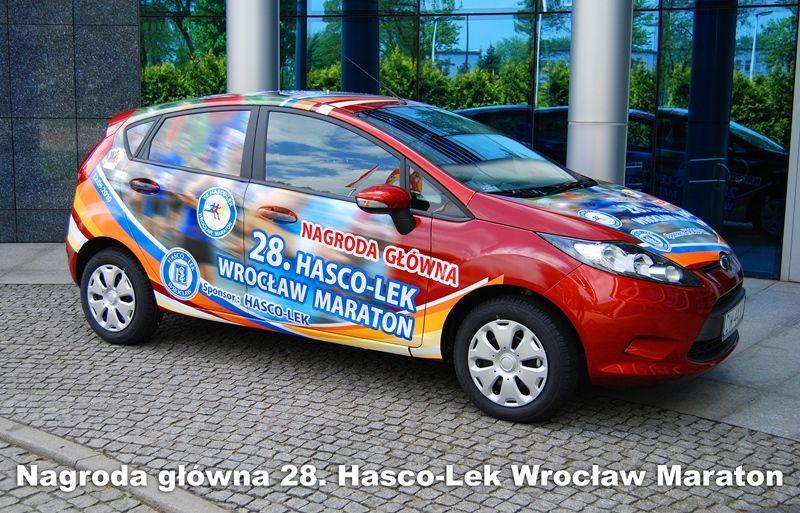 Nagrodą główną we wrocławskim maratonie jest samochód osobowy.