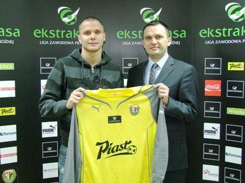 Rafał Gikiewicz to nowy bramkarz wrocławskiego Śląska.