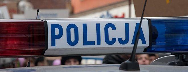 Policja złapała przestępcę podczas patrolu na ulicy Nowowiejskiej