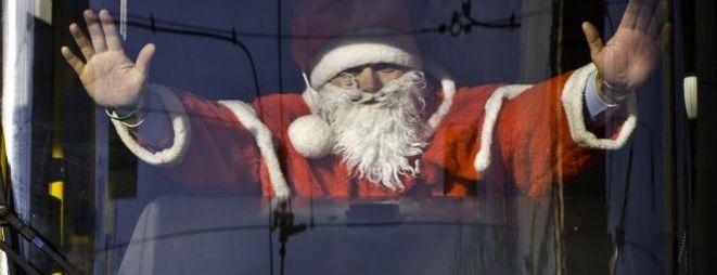 Świętego Mikołaja będzie można spotkać w autobusach i tramwajach