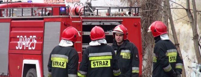 Akcja straży pożarnej została już zakończona