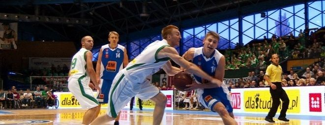 Radosław Hyży w meczu z AZS Koszalin był niewidoczny i zdobył tylko 4 pkt. (zdjęcie ilustracyjne).