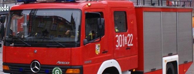 Na Traugutta interweniowało pięć zastępów straży pożarnej