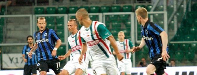 Marco Paixao (nr 9) szybko zdobył duże zaufanie nowego trenera Śląska Wrocław.