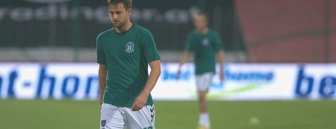 Kamil Biliński w meczu z Górnikiem Zabrze zupełnie zawiódł