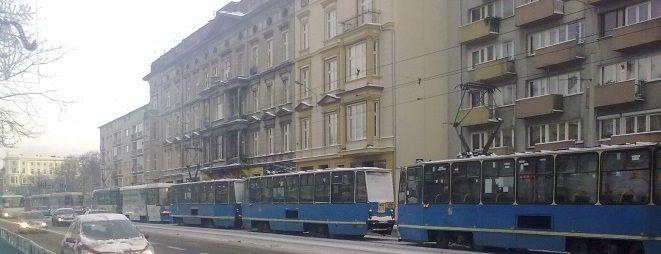 Wszystko działo się w tramwaju linii 17, jadącym w stronę Kleciny
