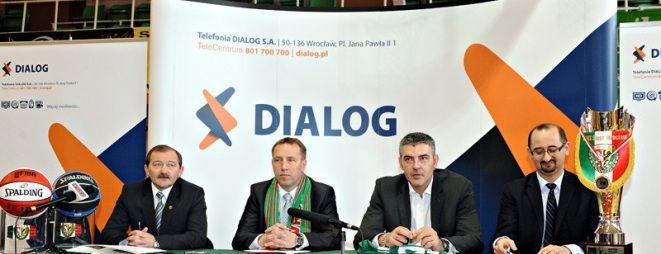 Maciej Zieliński (drugi od prawej) jest również obecnie prezesem koszykarskiego WKS-u Śląsk Wrocław