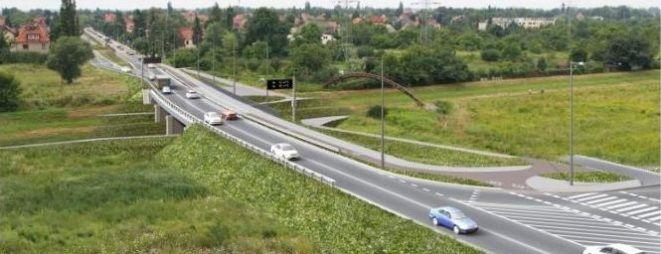 Tak ma wyglądać rozbudowa ulica Racławicka i most na Ślęzie