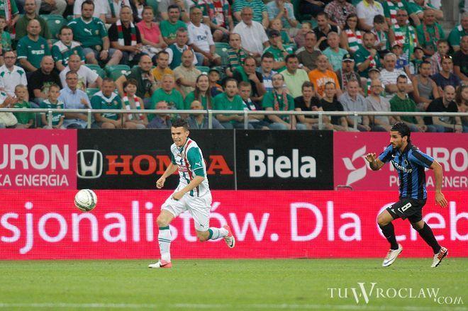 Waldemar Sobota jest ostatnio w dużym ''gazie''. Czy dla obrońców Sevilli będzie równie nieuchwytny jak w dwumeczu z Club Brugge?